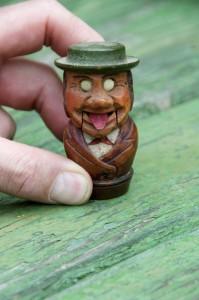 Holzkorken Zunge