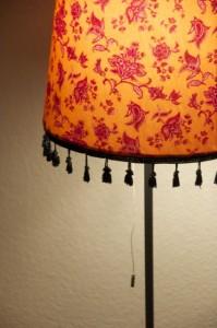 textil Stehlampe